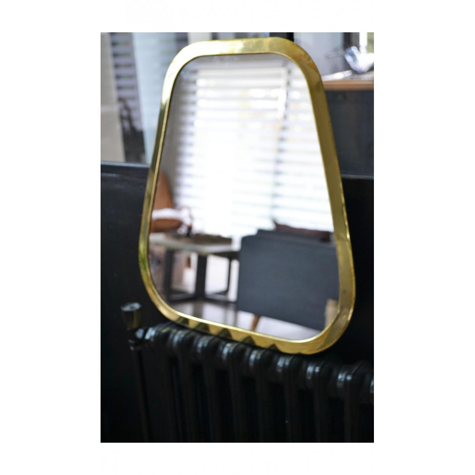 Miroir rectangulaire marocain en laiton ( M-L-XL-XXL )