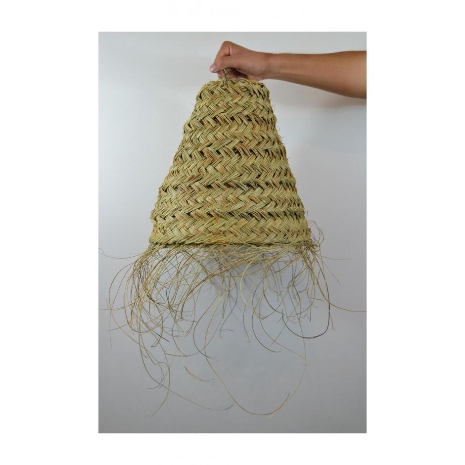 Abat jour marocain fait main en fibre naturelle