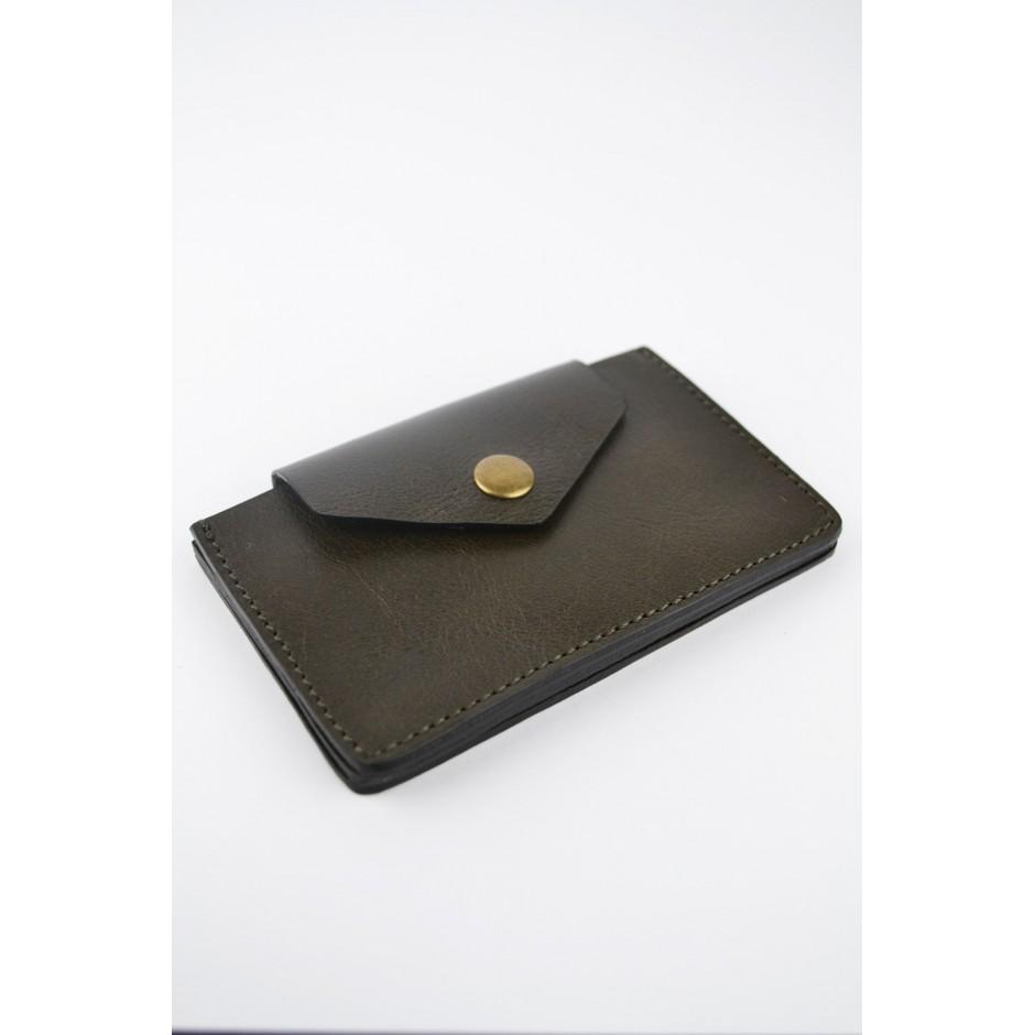 Porte-carte / porte-monnaie en cuir