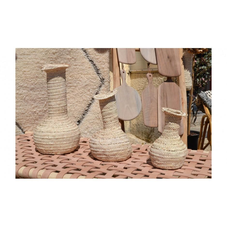 Vase fibres naturelles