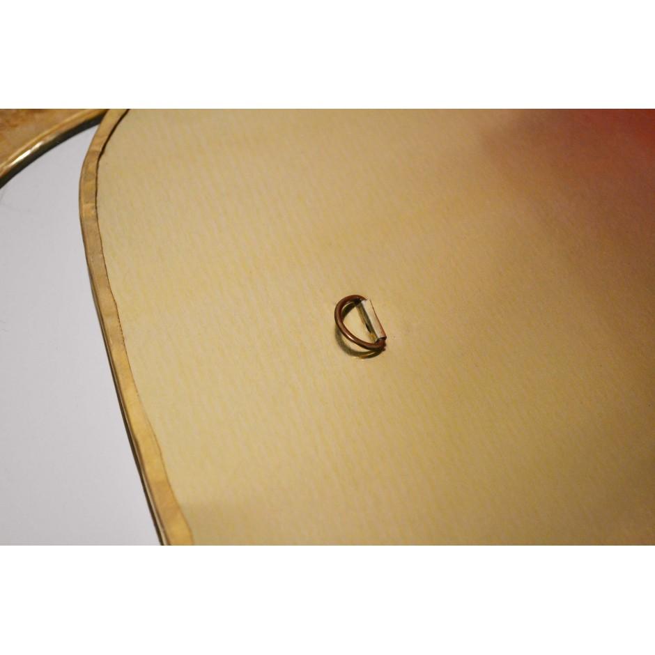Miroir oeuf marocain en laiton ( S-M-L-XL )