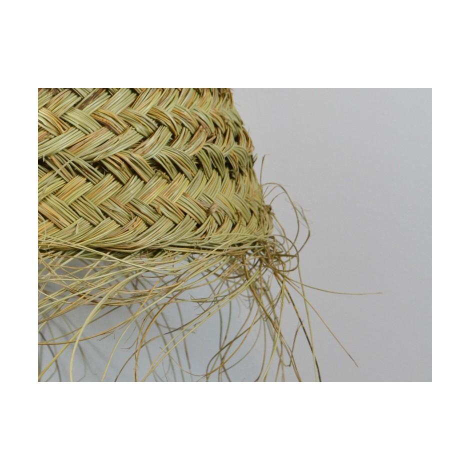 Suspension marocaine fait main en fibre naturelle